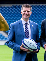 Scottish Rugby's Chief Operating Officer Dominic McKay
